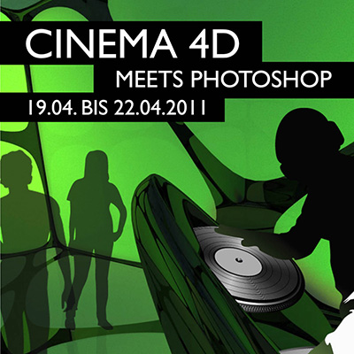 Cinema 4D meets Photoshop